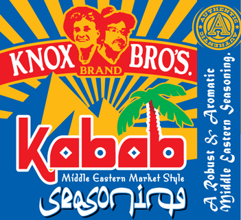 Kabob Seasoning, Middle Eastern Market Style dry rub, seasoning