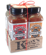 bbq seasonings gift baskets with  dry rubs, recipes